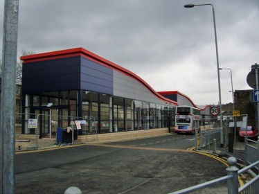 New super duper bus station.