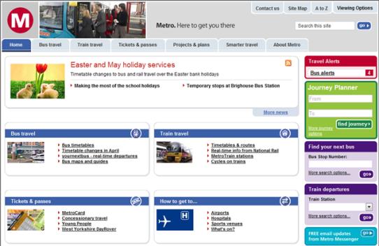Metro Journey Planner