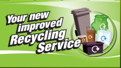 Our new improved recycling service