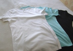 Three M & S t-shirts