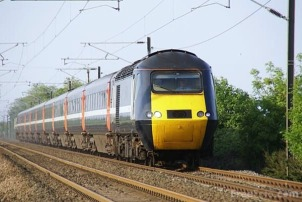 National Express train from Glasgow to London