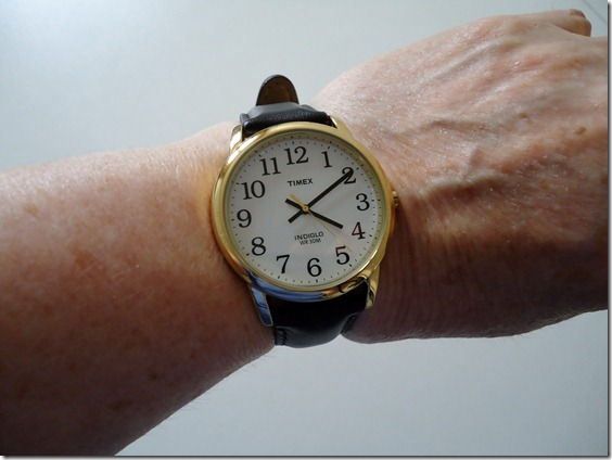 My new watch up close