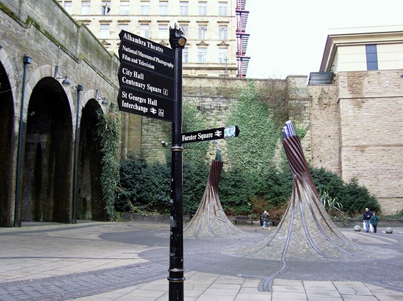 Sculptures at Forster Square