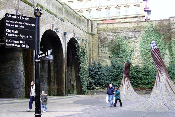 The old railway arches at Forster Square