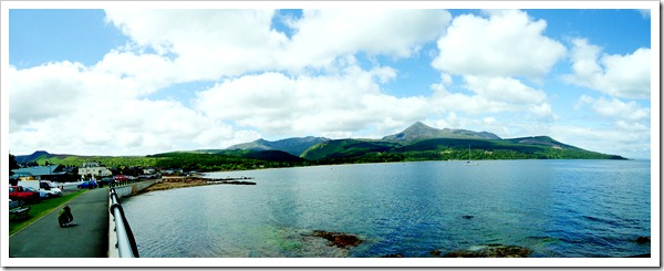 Bay at Arran stitch