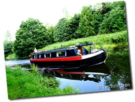 A narrowboat on the Canal