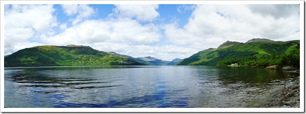 Loch Lomond second stitch