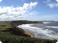 Cayton Bay towards Scarborough