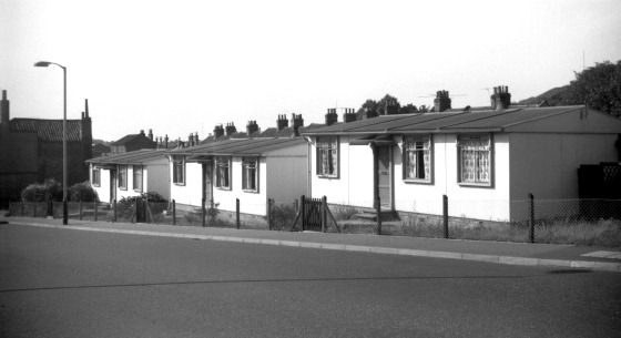 Some post war prefabricated houses