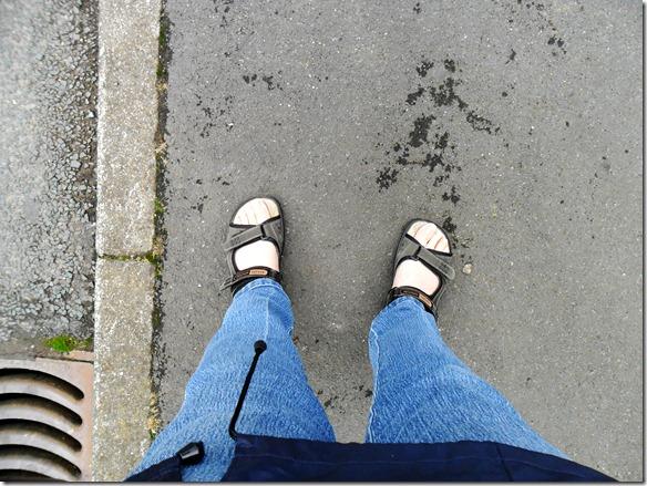 Risky shoe choice