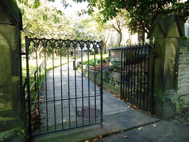 The open church gate