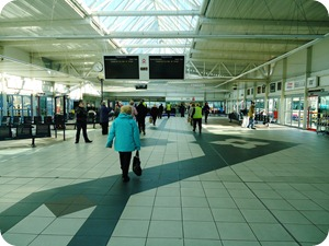 Bradford Interchange Bus Station