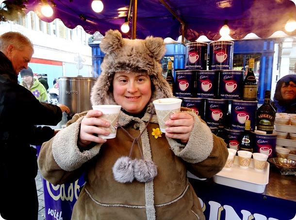 Hot chocolate and Brandy