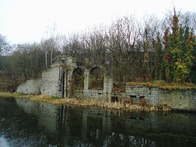 A ruined flour mill