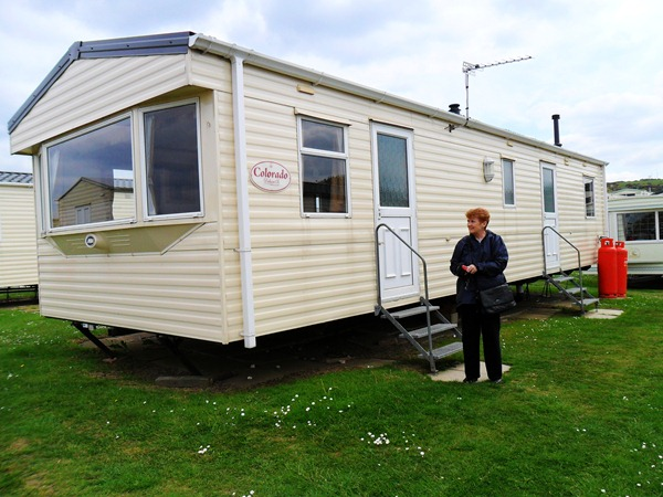 Our Mobile Home at Reighton Sands