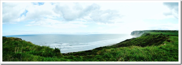 Cliff top walk stitch
