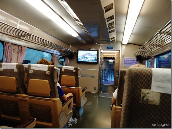 Inside the Japanese bullet train