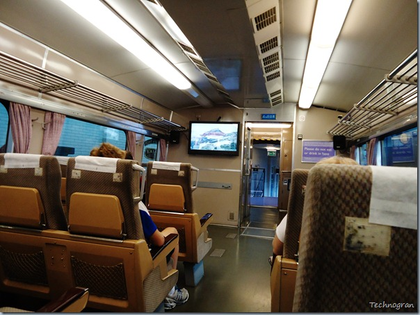 Inside the Japanese bullet train