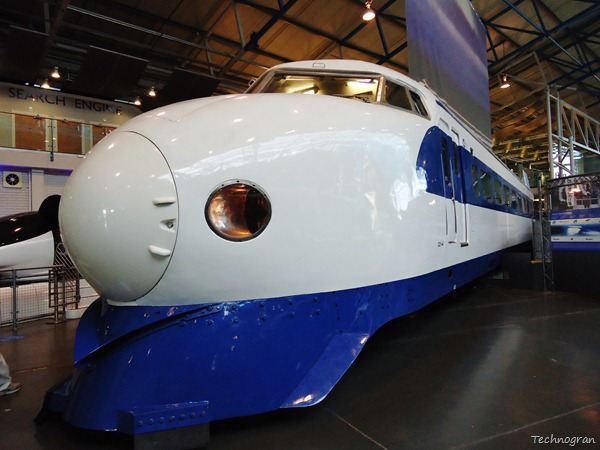 The Japanese bullet train