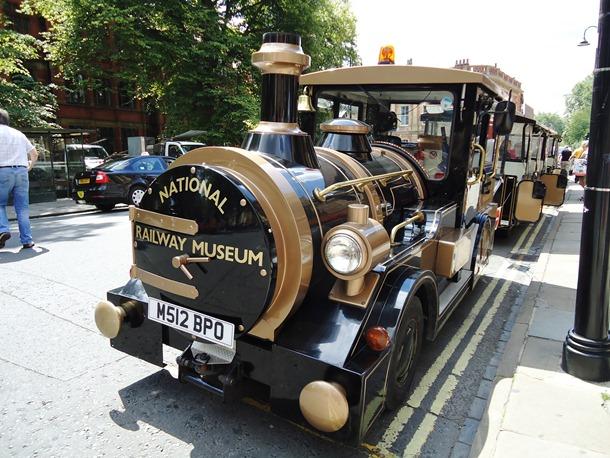 The Railway Museum road train