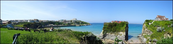 Newquay beach stitch